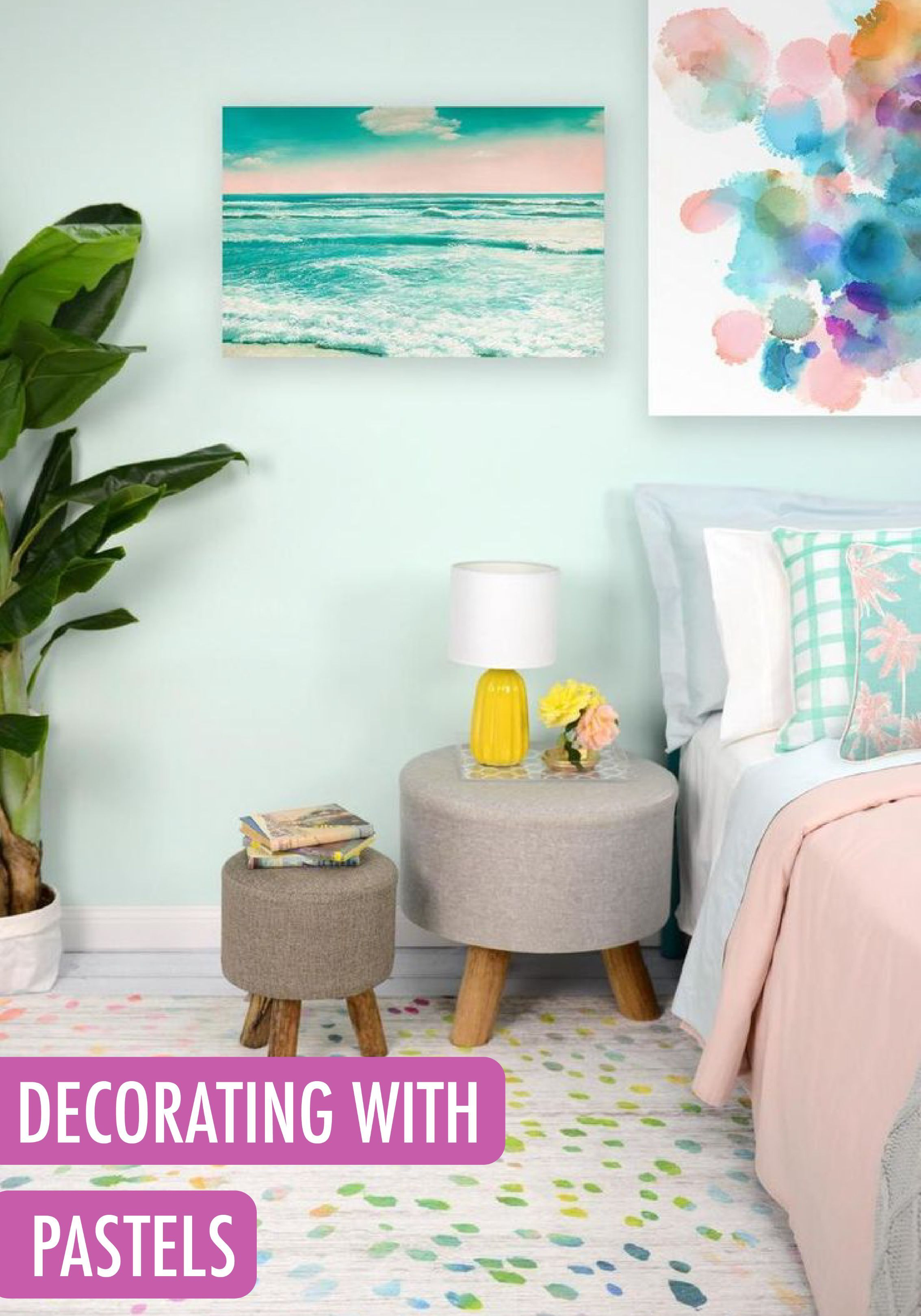 Decorating With Pastels 25 Rooms To Get Inspired By Now Pastel Room Spring Home Decor Home Decor