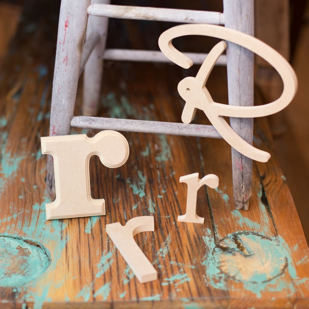 Craft Wood Letters Craft Letters Craftcuts Com In 2020 Wood Letters Wood Letter Crafts Painting Wooden Letters