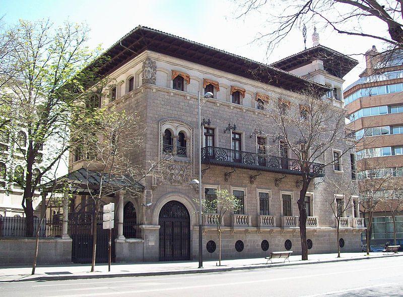 Casa Garay Actualmente Es La Sede Del Colegio De Ingenieros De Caminos Canales Y Puertos Palacios Fotos Antiguas Madrid Paisajes De España