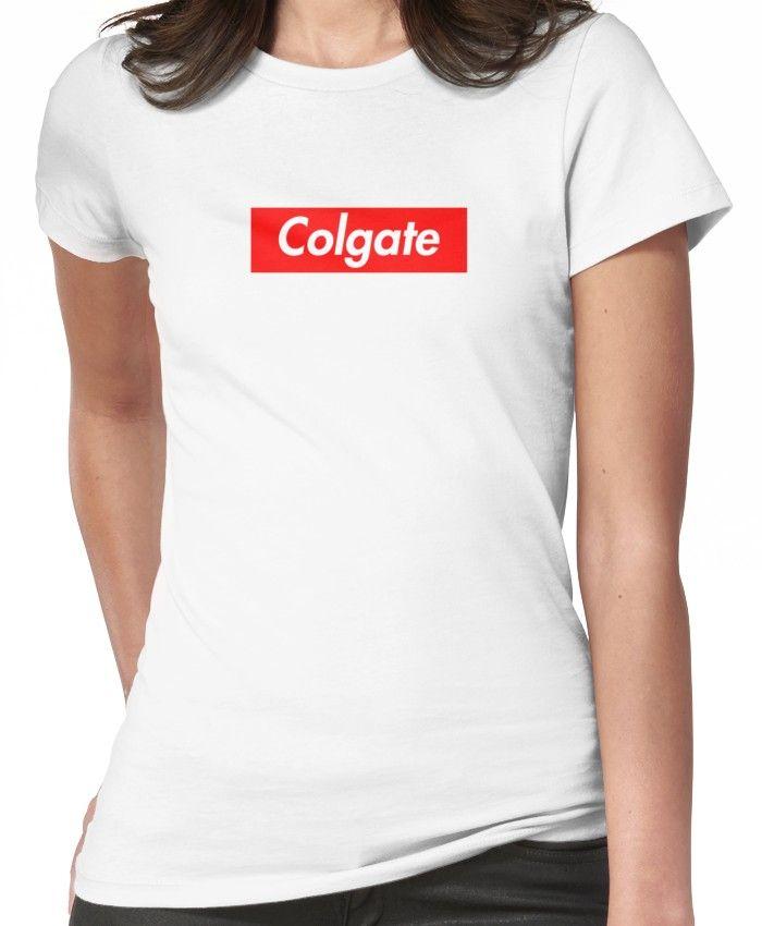 59382173b1f4 Colgate' T-shirt by lexifletcher58 | Products | Supreme t shirt ...