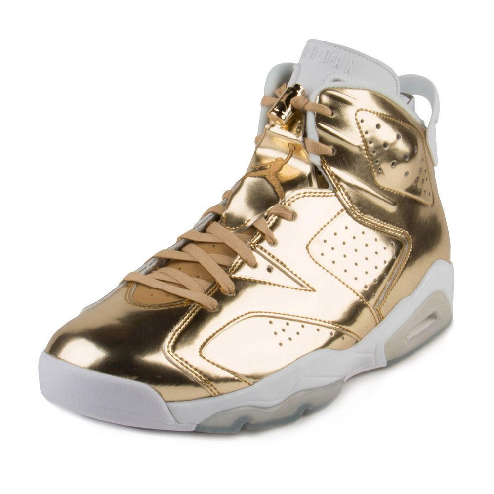 9c0173c350311b Nike Mens Air Jordan 6 Retro Pinnacle Metallic Gold White 854271-730   MichaelJordan  AirJordan  Jordans