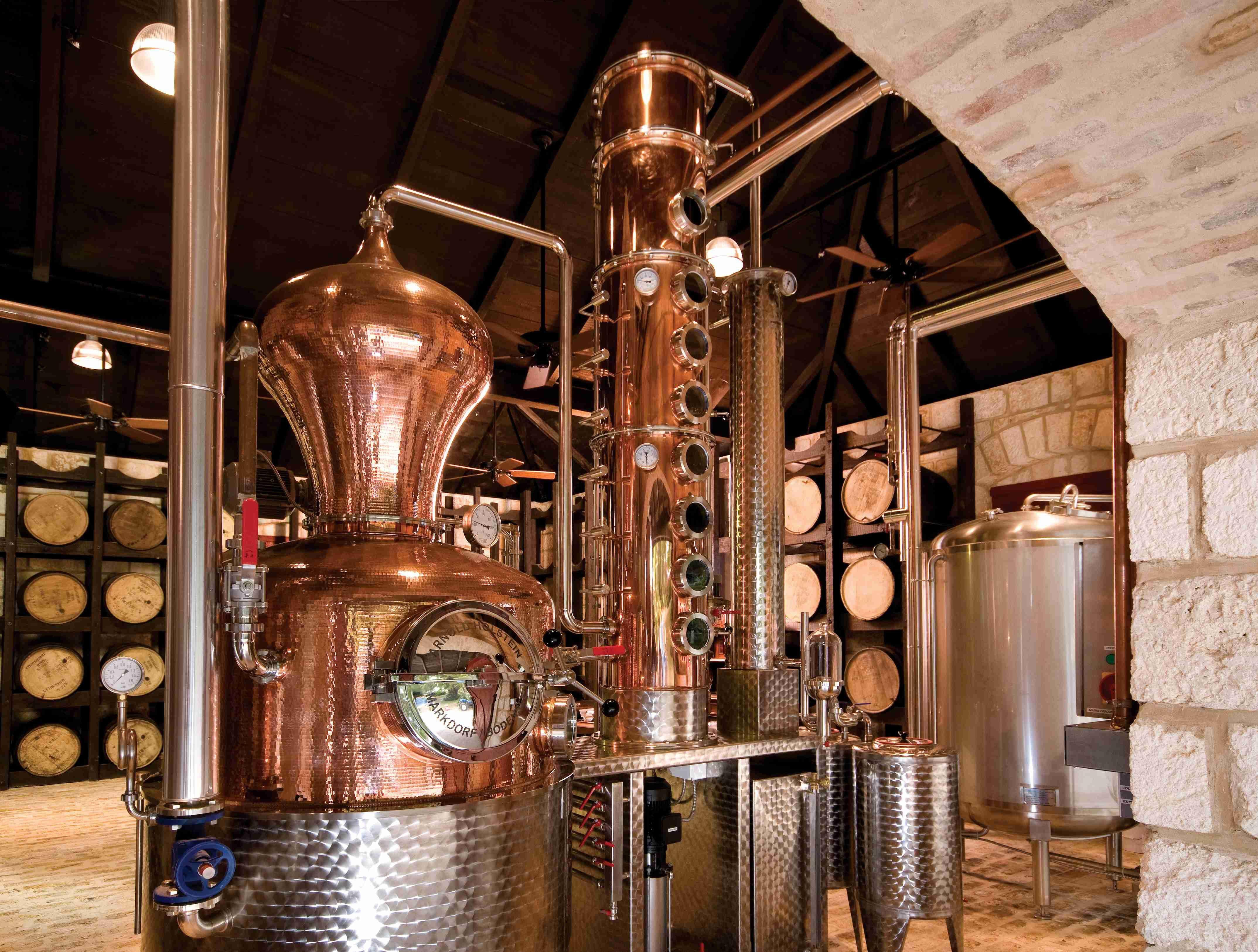 Rum Distillery By Bavarian Breweries Distilleries Alambique