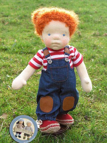 Petra - waldorf inspired doll by Lalinda.pl | Muñecos waldorf, Fibra ...