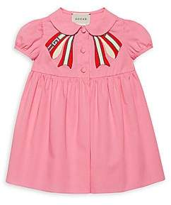 3575fc820 Gucci Baby Girl's Short-Sleeve Dress | Products in 2019 | Gucci baby ...
