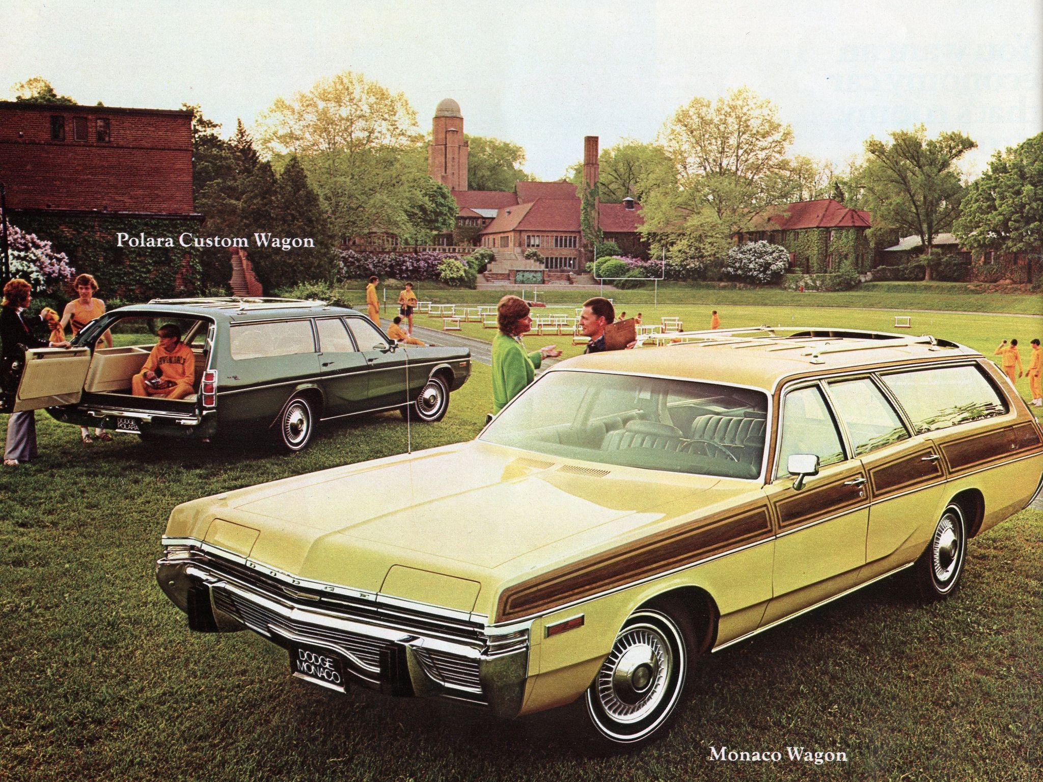 1973 Dodge Monaco Station Wagon Station Wagon Sports Cars Wagon
