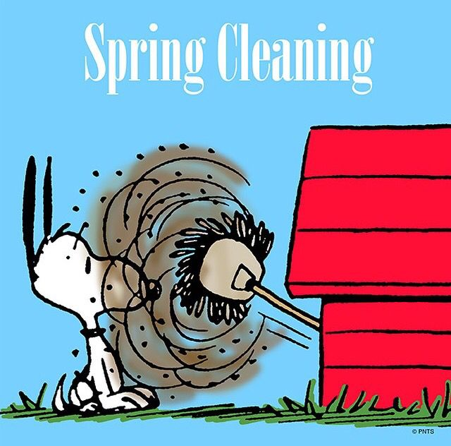 Eventhough it's no longer spring but cleaning up is always associated with spring cleaning.