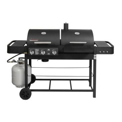 Brinkmann Dual Function Ii Propane Gas And Charcoal Grill 810 3800 Sb At The Home Depot