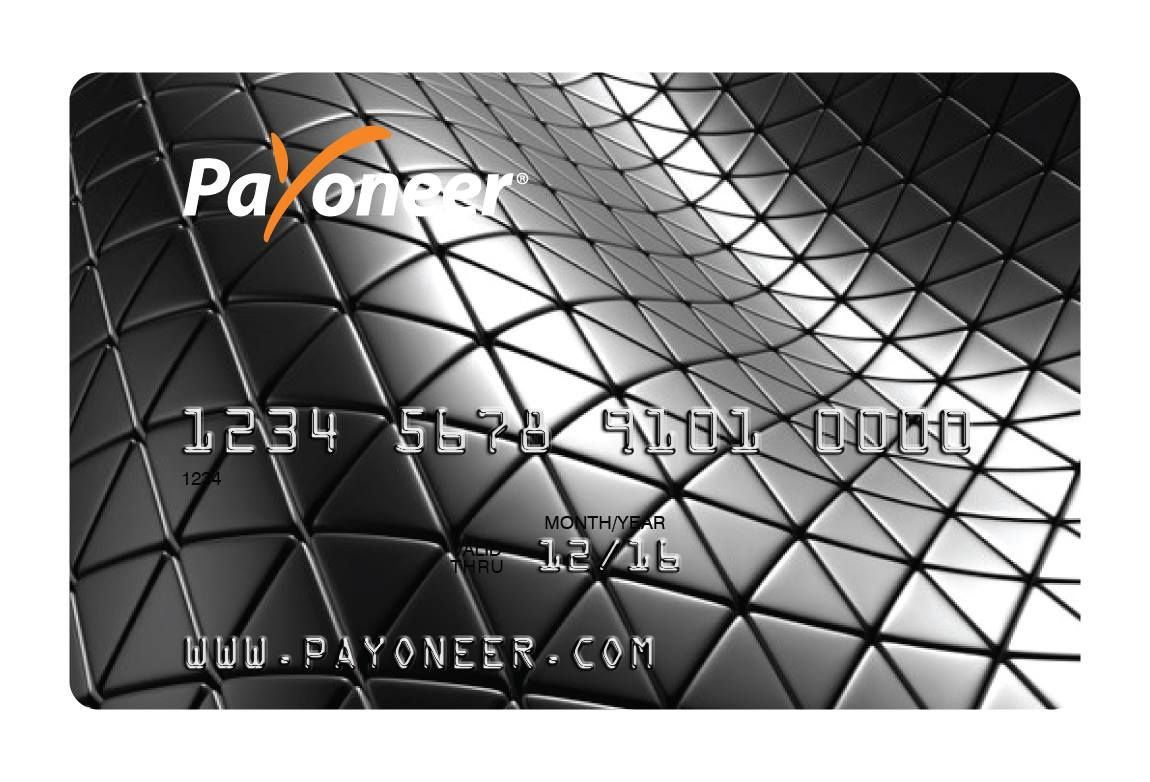 Submission for the Payoneer Card Design Contest #PayoneerDesign ...