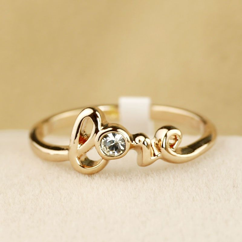 Love letter ring female accessories jewelry accessories jewelry ...
