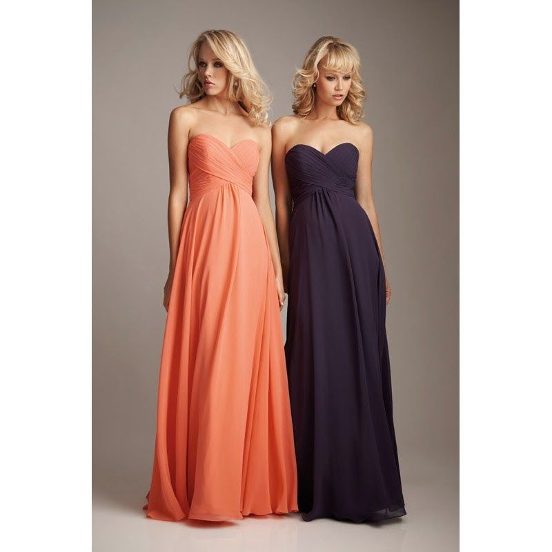 2c4d6fd53b Orange Bridesmaid Dresses - Add a Fresh Squeeze to Your Special Day ...
