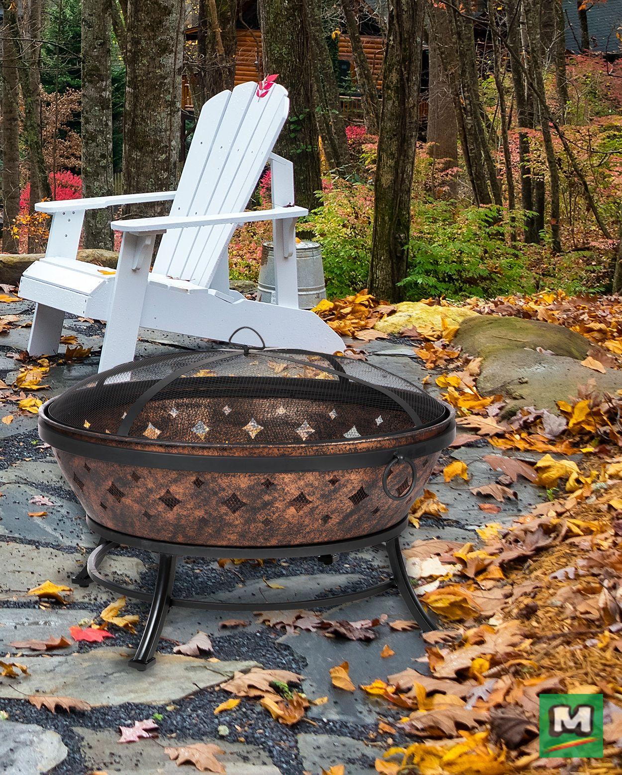Build a beautiful backyard fire in this Backyard Creations ...