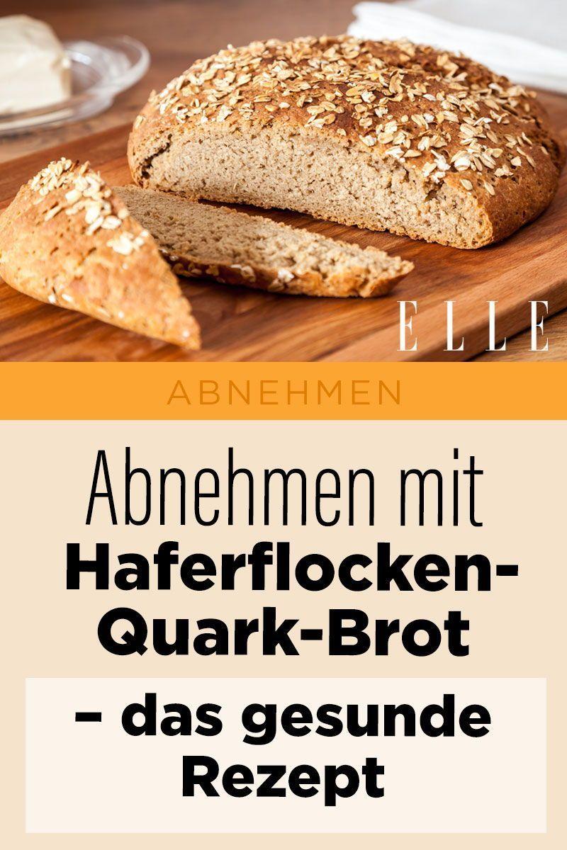 Abnehmen mit Haferflocken-Quark-Brot: das gesunde Rezept!