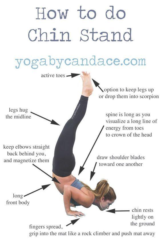 Downdog Yoga Poses For Fun Fitness How To Do Chin Stand Downdog Diary Advanced Yoga Yoga Poses Advanced Yoga For Beginners