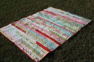 Martha's Blog: 1600 Jellyroll Quilt At Last