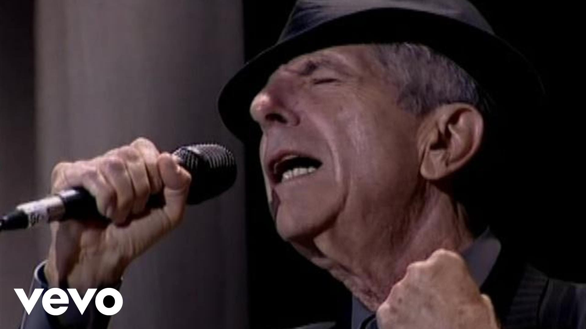 Music Video By Leonard Cohen Performing Hallelujah C 2009 Sony Music Entertainment Leonard Cohen Leonard Cohen Hallelujah Leonard Cohen Leonard Cohen Lyrics