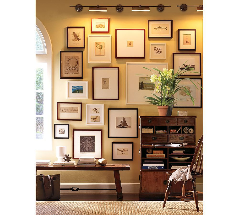 Wood Gallery Oversized Mat Frames | Pottery, Barn and Woods