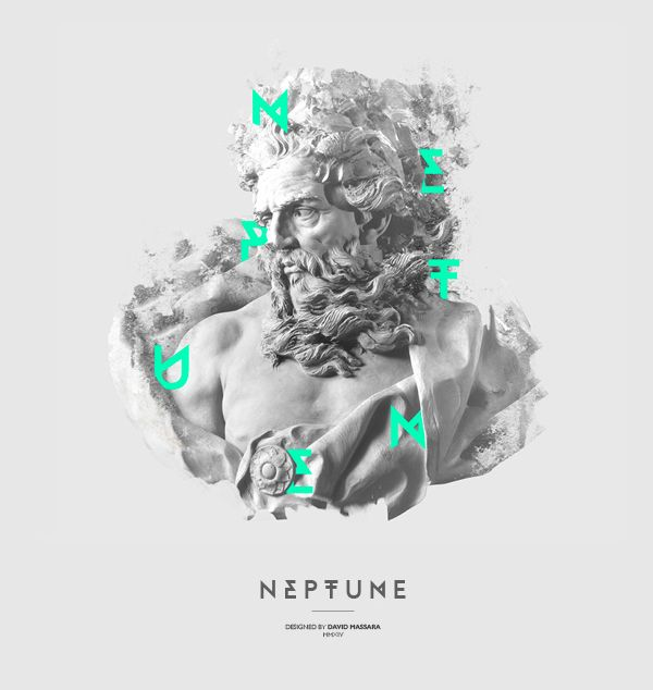 NEPTUNE | Typeface by David Massara, via Behance