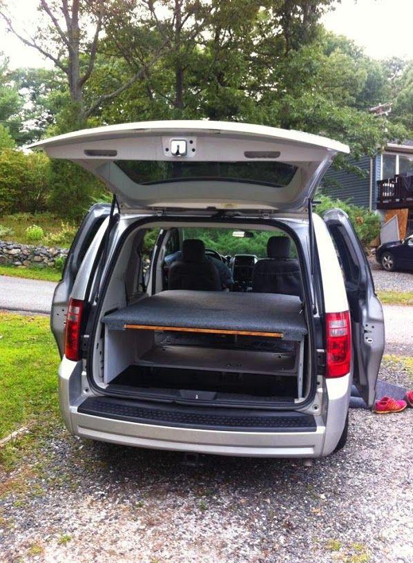 bed/storage ideas Mini van, Used minivans for sale