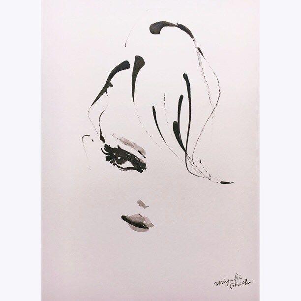 Kendall #kendalljenner #fashionillustration #fashionillustrator #miyukiohashi