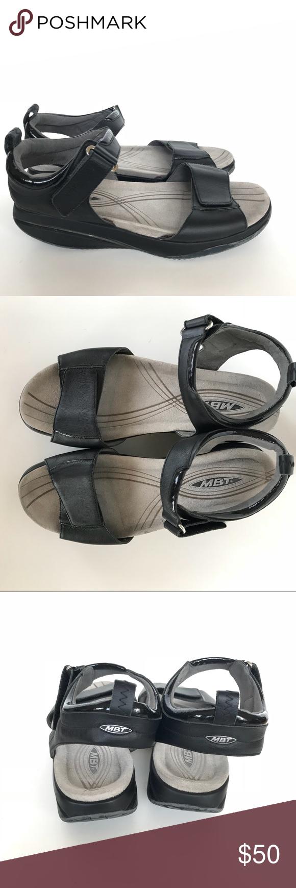 31250cdaf8d3 MBT black Pia Rocker toning sandals