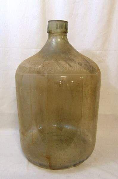 shopgoodwill.com: Huge 13 Gal. Glass Carboy Bottle MCAG STD 1955