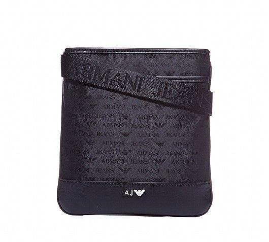 Armani Jeans Nylon Repeat Print Manbag  0606fef08a985
