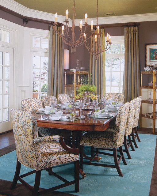 Southern Living Idea House Eclectic Dining Room