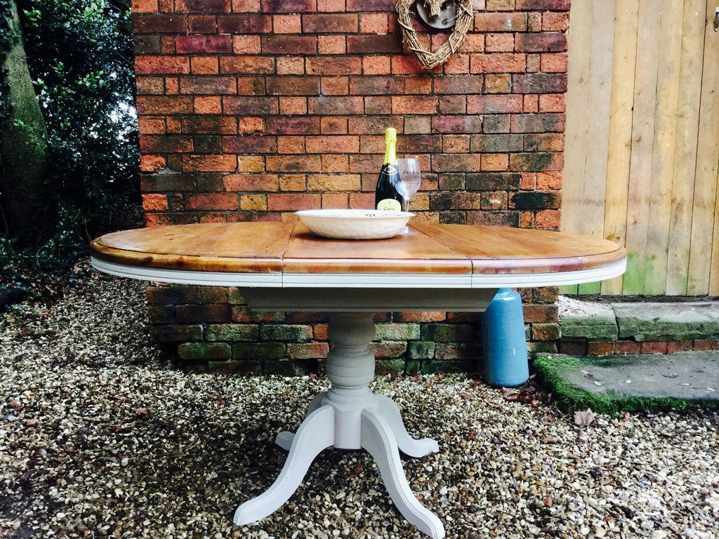 Painted French Country Style Vintage Extendable Table SOURCED TO ORDER