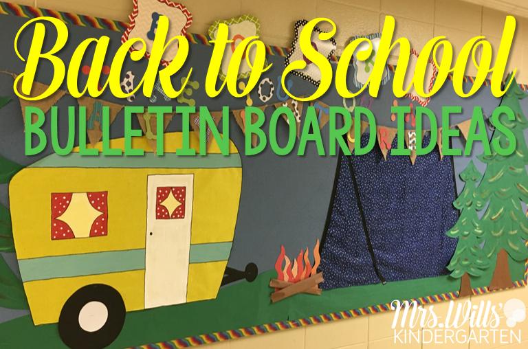 Back to School Bulletin Boards Back to school bulletin