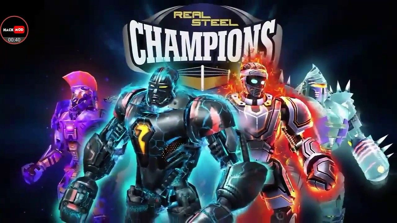 Real Steel Boxing Champions Mod APK + Obb Data Real