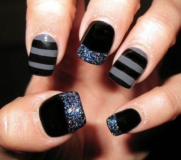 45 Beautiful Winter Nail Art Designs and Colors 2017 | Winter nail ...