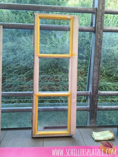 Superb Altes Fenster, Malen, Upcycling, Idee, Beschriften, Glas
