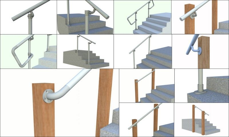 Best Simple Rail Simplified Handrail For Stairs Stair 640 x 480