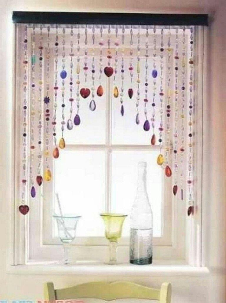 62 Lovely Bohemian Beaded Curtains Decor Ideas Beaded Curtains Curtain Decor Curtains