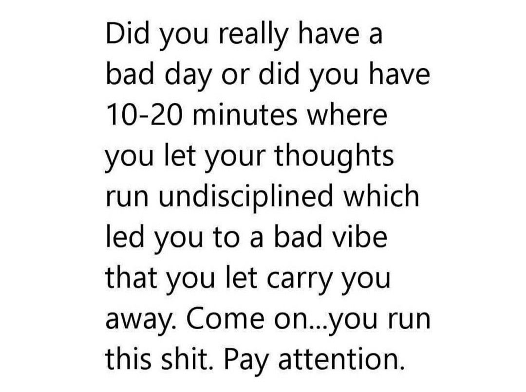 Pin By Monica Rose On Sayings I Like Having A Bad Day Do You Really Let It Be