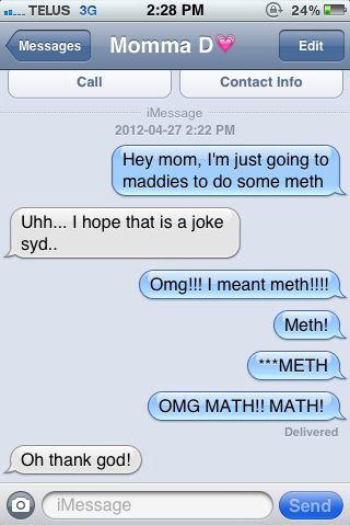 Heads Up, Mom