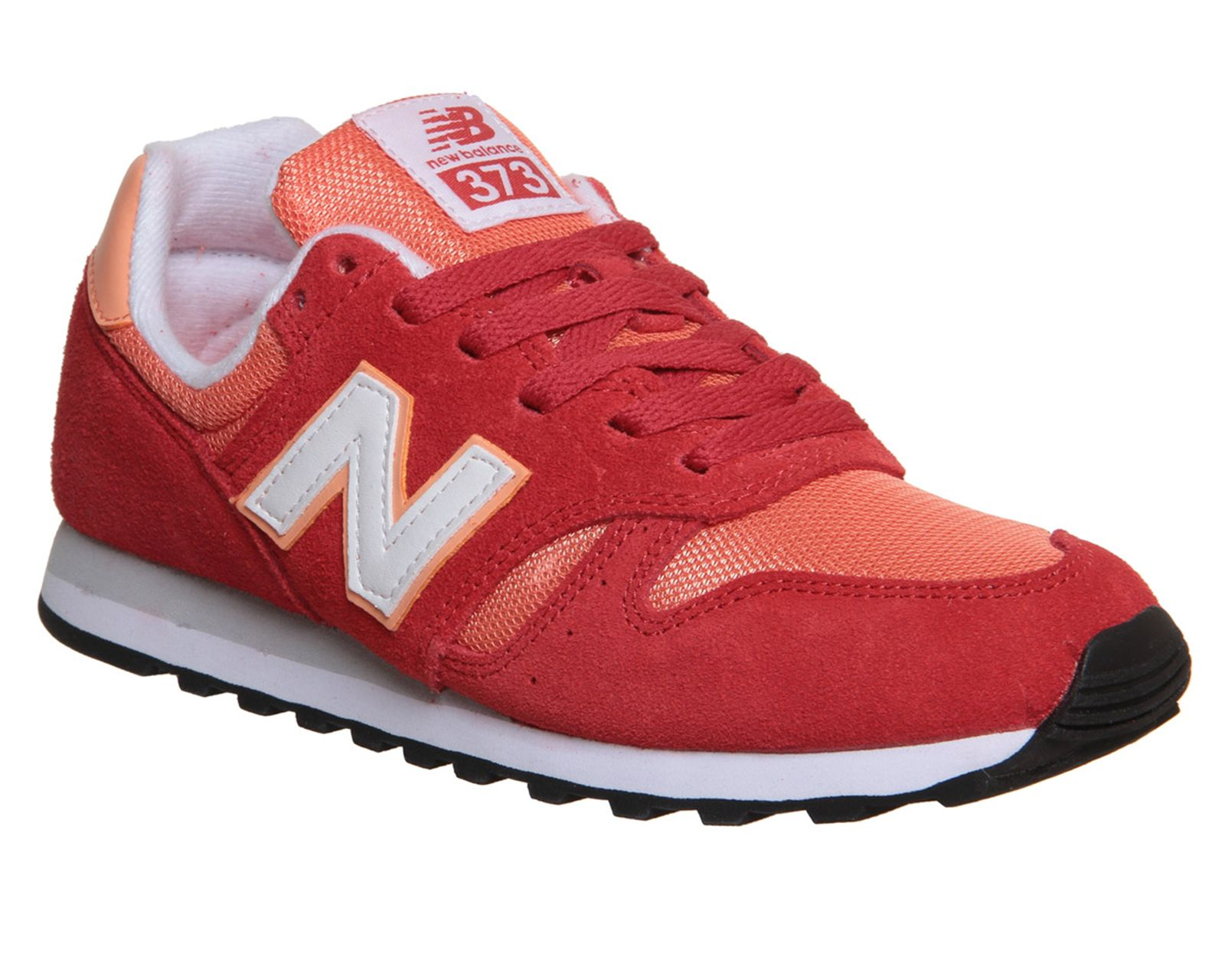 new products 9623b 9dcaf New Balance 373 red/peach, women's | SneakerHeart | Orange ...