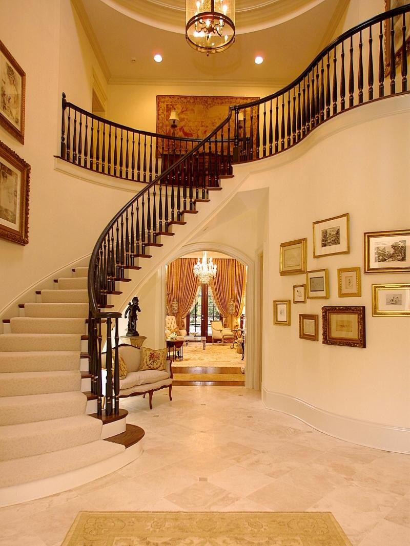 Luxury staircase for classic interior staircases luxury for Luxury staircases