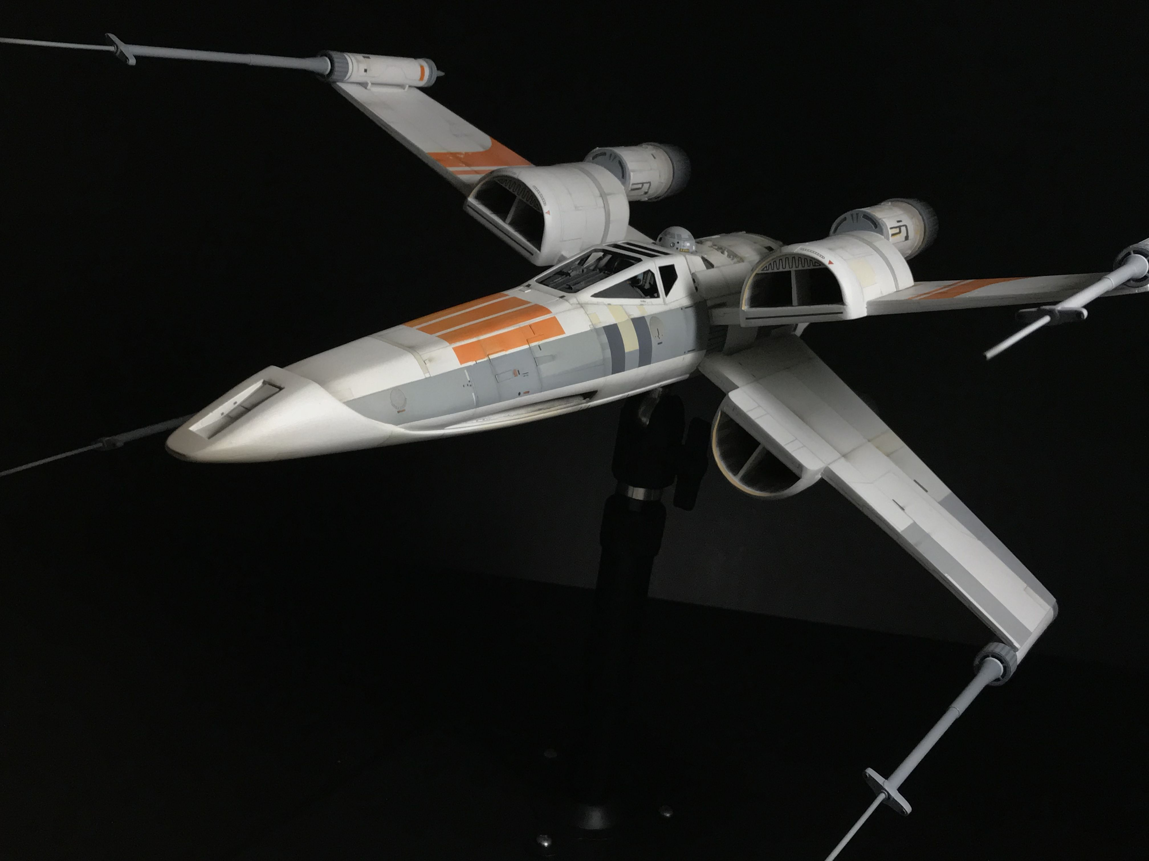 Awesome McQuarrie X Wing 1:24 Scale. Casting By FM Sci Fi Models