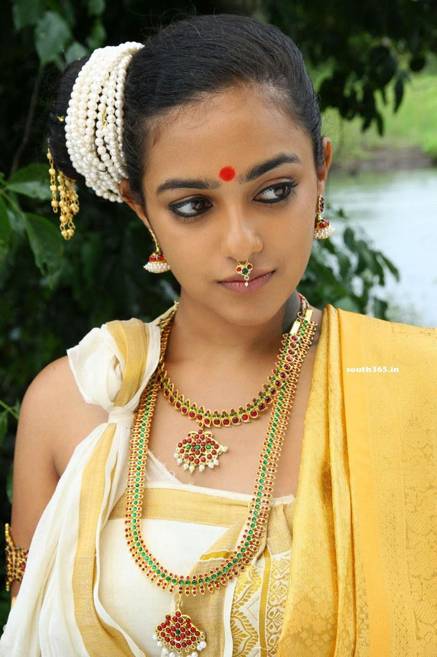 South Indian Movie Actresses In Traditional Bridal Saree