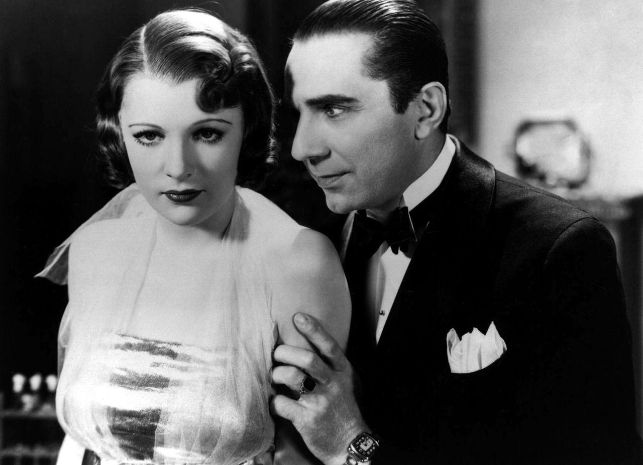 Bela Lugosi and Irene Ware in The Raven (1935) Horror