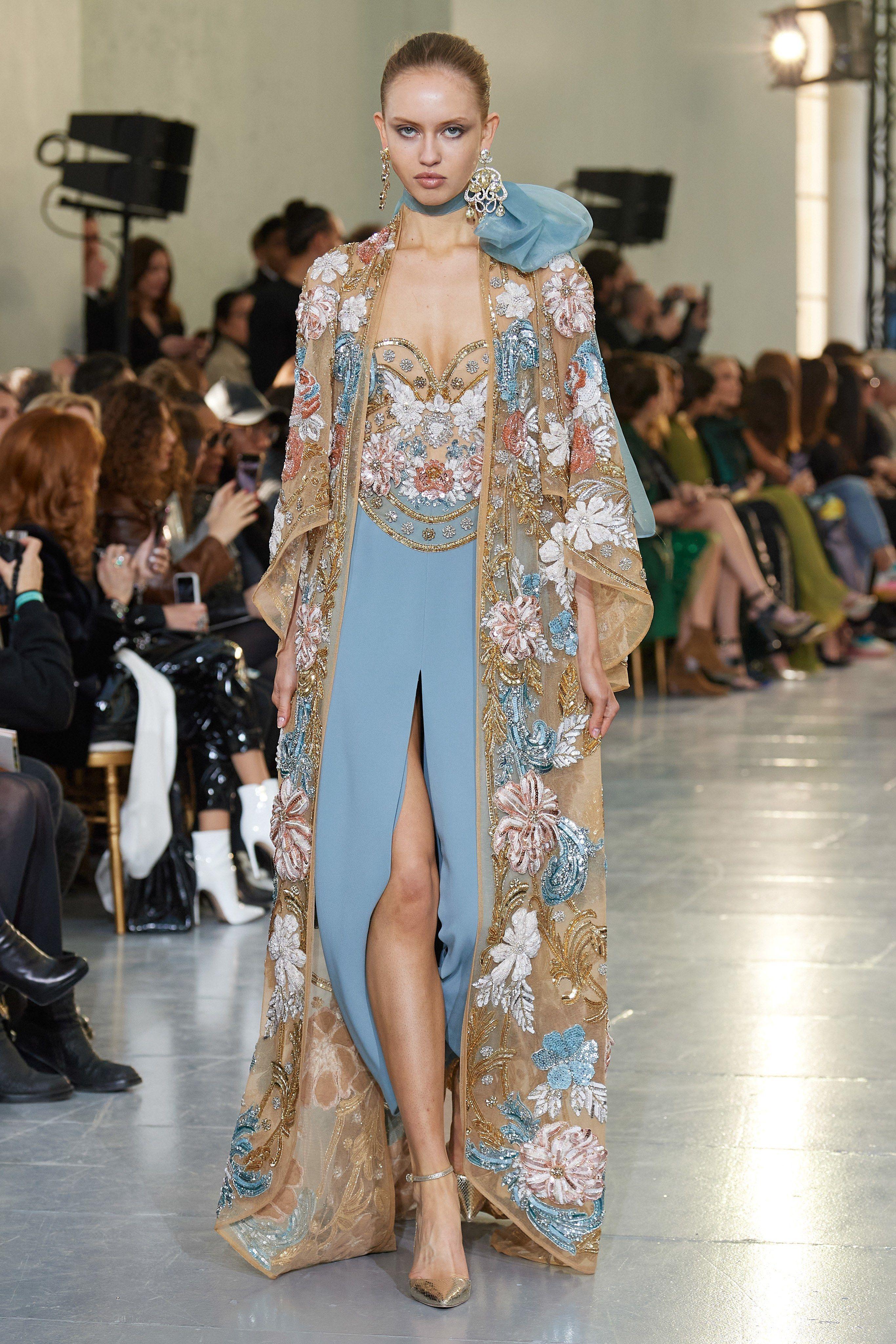 Elie Saab Spring 2020 Couture Collection Vogue Elie Saab Couture Couture Fashion Elie Saab Bridal