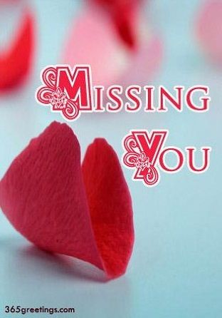 missing you messages for