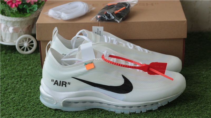 Off White X Nike Air Max 97 White Cone Ice Blue Nike Air Max 97