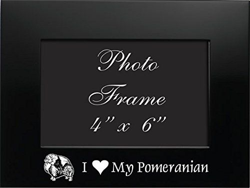4x6 Brushed Metal Picture Frame-I love my Pomeranian-Black LXG, Inc. http://smile.amazon.com/dp/B012YPT2E8/ref=cm_sw_r_pi_dp_8itWvb17X7CPR