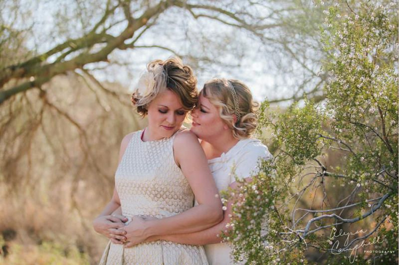 These Brides Have Us Swooning Over Their Gorgeous Big Day - Story by ModCloth
