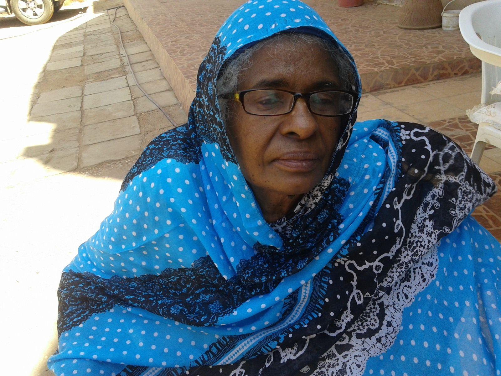 ثريا التهامي: المراة السودانية تعيش ظروف قاسية خاصة في مناطق النزاع