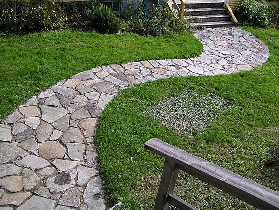 Great Stone Pathway Ideas Stone Garden Paths Stepping Stone