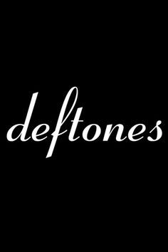 Deftones Logo iPhone Wallpapers Deftones white pony