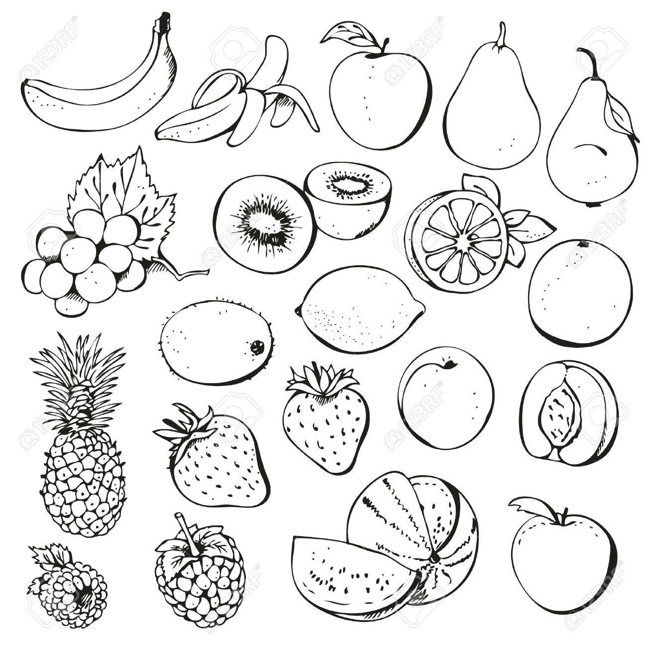 Clip Art Black And White Fruit Of The Spirit